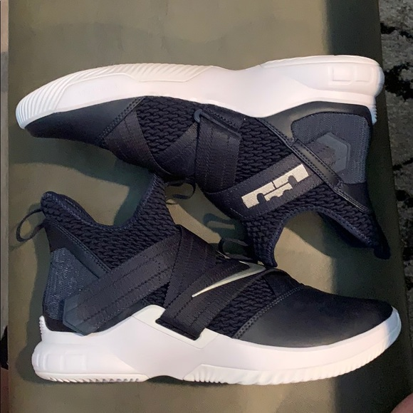 Nike Shoes   Navy Lebron Basketball